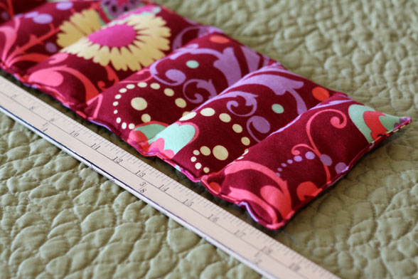 Microwave Rice Heating Pad crafts for home: sewing heating pad tutorial - crafts ...