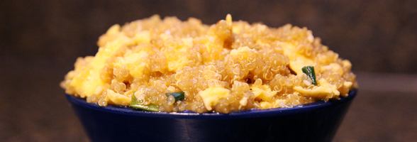 Japanese Fried Quinoa