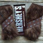 Chewbacca Chocolate Bar Party Favors